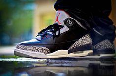 a1a61998d08 9 Best Jordan 3's on Feet images | Jordan iii, Black cement, Jordan ...