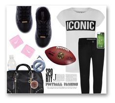 """#Footballfashion / Kids"" by lisa-266 ❤ liked on Polyvore featuring St. John, SuperTrash, CellPowerCases, NIKE and MICHAEL Michael Kors"