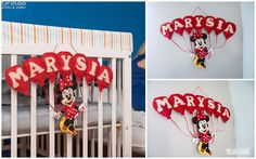 Efekt końcowy ręcznie robionej dekoracji z filcu - tym razem do pokoju Marysi.