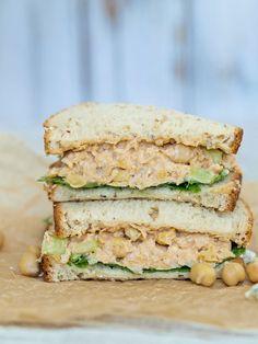 Buffalo Chickpea Salad Sandwich  - Delish.com