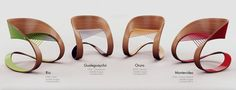 Modern Chair that Inspired by Latin American Carnivals – Carnaval Chair | Home, Building, Furniture and Interior Design Ideas