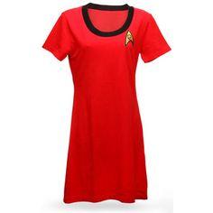 ThinkGeek :: Star Trek Original Series T-Shirt Dress