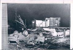 Tornado Damage Toledo  OH 1965
