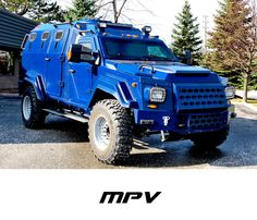 MPV, Extream Bug Out Vehicle. Idnlike it in black though...