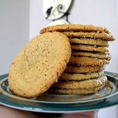 "Gluten-Free Peanut Butter Cookies | ""This was a huge hit! Don't forget to grease the cookie sheet, because otherwise they would be impossible to get off! Better yet, use some aluminum foil and peel them off the foil."" - Fujiko"