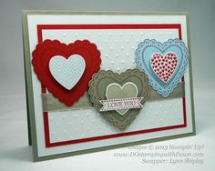 DOstamperSTARS Shoebox Swap - Valentines - DOstamping with Dawn, Stampin' Up! Demonstrator