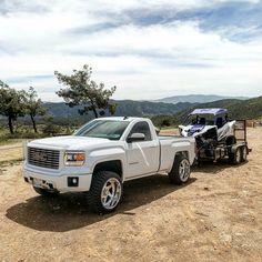 Dream Dodge Trucks, Lifted Trucks, Pickup Trucks, C10 Chevy Truck, Chevrolet Silverado, Single Cab Trucks, Dropped Trucks, Sport Truck, Diesel Trucks