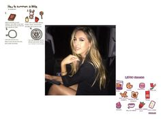 """""""Scarlett"""" by divas-and-champs-anons ❤ liked on Polyvore featuring beauty"""