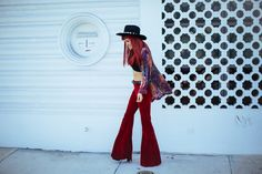 amintaonline:  Boodwah Velvet Bell bottoms are perfection!! http://amintaonline.com/
