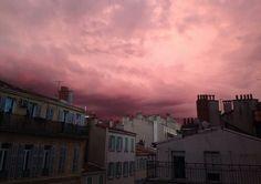 ✧ [Aesthetic] #sky #pink #tumblr