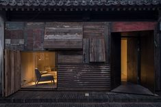 Chinese architect Zhang Ke has slotted a hostel into one of Beijing& hutong neighbourhoods, featuring tiny rooms that project at angles into a courtyard Hutong Beijing, Patio Interior, Social Housing, Chinese Architecture, Famous Architecture, Architecture Design, Building Structure, Common Area, Skylight