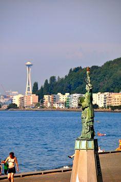 Alki Beach, Seattle Washington