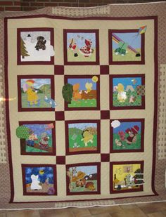 Sunbonnet Sue thru the year