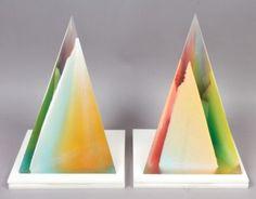 Superb-Pair-Vintage-Signed-Dennis-Byng-Pop-Art-Lucite-Sculptures-1973