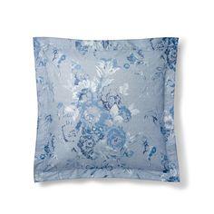 Ralph Lauren Indigo Montauk Floral Euro Sham