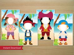 Jake And The Neverland Pirates Photo Booth por SquigglesDesigns