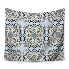 East Urban Home Ice Stars by Miranda Mol Wall Tapestry Size: