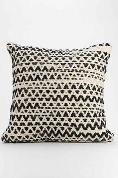 $69.00 Textured Diamond-Stripe Pillow | Urban Outfitters