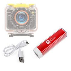 Batterie DURAGADGET pour VTIN Caméscope Sportive UHD avec Capteur Sony IMX117 Exmor R Caméra d'Action: DURAGADGET vous présente sa batterie…