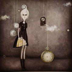 Painting by Iulia Schiopu