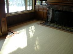 """Custom cut to fit #area_rug with 5"""" cotton binding in Wellesley, MA.  For more ideas and info, check us out at http://carpetworkroom.com"""