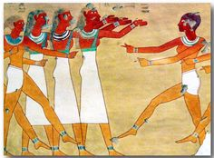 Women in Ancient Egyptian Art, Painting