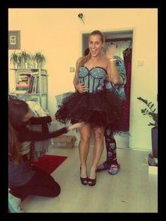 Dress by Factory WTF? for Dominika Cibulkova