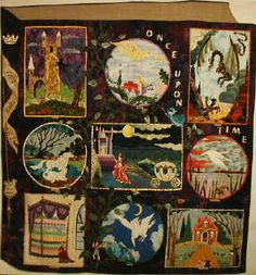Fairy tale quilt patterns by Bonnie Kaster | Kids | Pinterest ... : fairy tale quilt patterns - Adamdwight.com