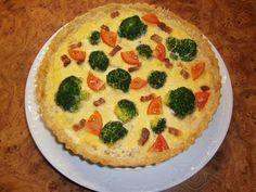 Mennyei Baconos, brokkolis quiche recept! Egy újabb sós pite variáció.