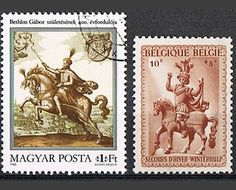 31 Vintage Postage Stamps  Horses by P8iosities on Etsy,