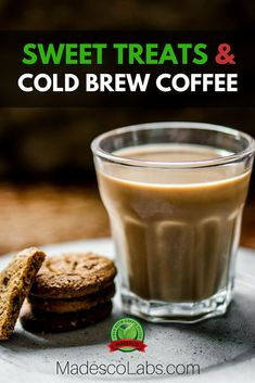 Are you sick of your usual break-time snacks? This article has four fabulous foods tailored to a cold-brew coffee break Donut Recipes, Coffee Recipes, Cold Brew Coffee Recipe, Coffee Dessert, Coffee Drinks, Nitro Cold Brew, Coffee Blog, Fabulous Foods, Coffee Break