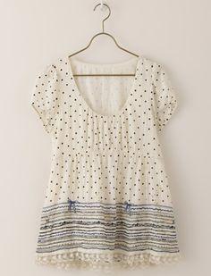 franche lippee 「ねこふんじゃった」 embroidery tunic