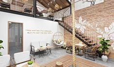 Cafe Shop Design, Store Design, Exterior Design, Interior And Exterior, Cafe Concept, Restaurant Interior Design, Coffee Design, Da Nang, Commercial Interiors