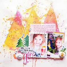 Scrapbooking Tutorial- Simple Trees with Irit
