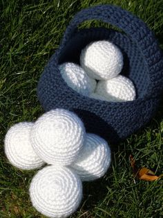 Crochet Your Own Snowball Fight Kit  PATTERN ONLY by PearlyBirds, $3.00