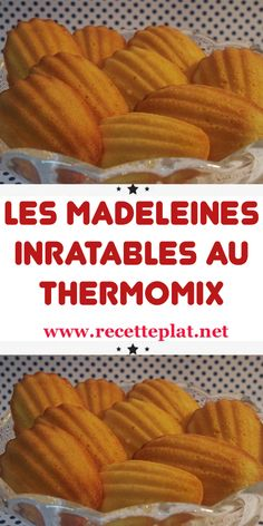 These unbeatable thermomix madeleines are a real treat, and their recipe is very simple. For a refined snack, a gourmet snack or a platter of sweets to present to guests with coffee, madeleines always make an impact! Italian Christmas Cookie Recipes, Italian Cookie Recipes, Gentilly Cake Recipe, Breakfast Recipes, Dessert Recipes, Thermomix Desserts, Macaron Recipe, Homemade Cakes, Cheesecake Recipes