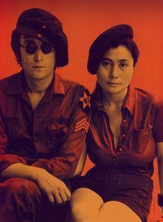 John Lennon and Yoko Ono John Lennon Yoko Ono, John Lennon And Yoko, Beautiful Person, Beautiful Men, Pop Rock, Lisa S, Joko, Famous Couples, Psychedelic Rock
