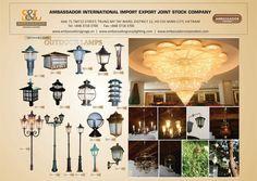 Copper Light Fixture, Copper Lighting, Copper Accessories, Exterior Lighting, Wall Sconces, Vietnam, Photo Wall, Chandelier, Bronze