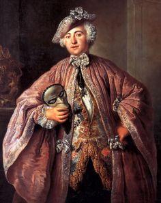 """Portrait of Egmont von Chasôt"", Antoine Pesne, first half of the 18th century."