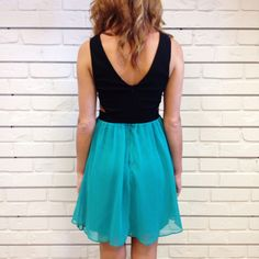 Turquoise Love #party #dress #cutout #hunnistyle