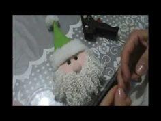 Cara de Papa Noel Colgante - YouTube