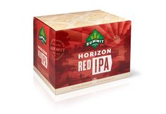 Summit Brewing Co. - Horizon Red IPA 12-pack Packaging | Design by Ken Sakurai