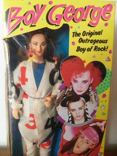 Vintage Boy George Doll 80's Toy Celebrity Pop Rock  Roll Star Music Singer Mint in Box on Etsy, $99.00