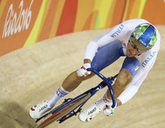 Rio 2006, Elia Viviani, oro nel ciclismo su pista, specialità omnium (reuters)