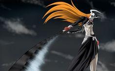 Ichigo Kurosaki, 4k, characters, sword, manga, Bleach