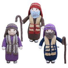 Christmas Nativity Collection Knitting pattern by Knitables | Knitting Patterns | LoveKnitting