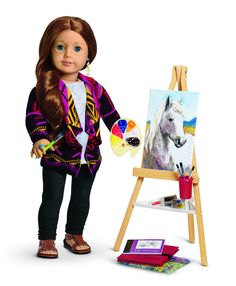 The American Girl Doll Of The Year 2013! Meet Saige From New Mexico
