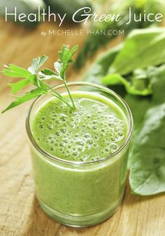 Ingredients: 1 cucumber 1 handful of kale 2 celery stalks 1 apple ½ lemon, squeezed Optional:  1 piece of fresh ginger Process all of these ingredients in a juicer and enjoy! This juice will help reduce bloat and give your body a big dose of nutrients.
