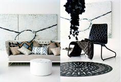 Black, white gray, beige. Diy Home Interior, Interior Decorating, Interior Design, Interior Inspiration, Design Inspiration, Interior Photography, Comfort Zone, Scandinavian Design, House Design
