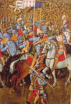 Medieval Crossbow, Medieval Armor, Medieval Fantasy, Medieval Manuscript, Illuminated Manuscript, Medieval Paintings, Art Ancien, Knight Armor, Book Of Hours